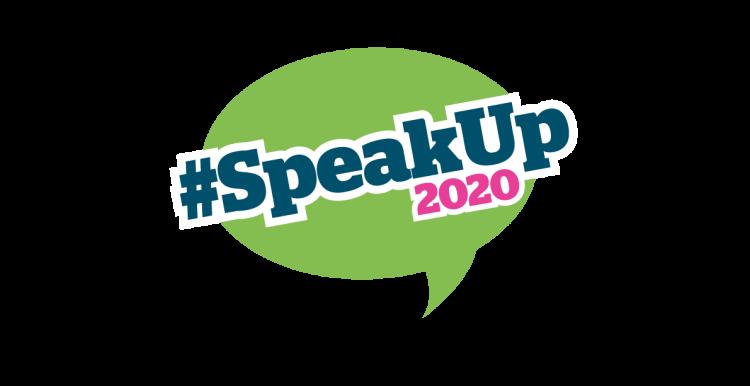 speak up 2020 graphic