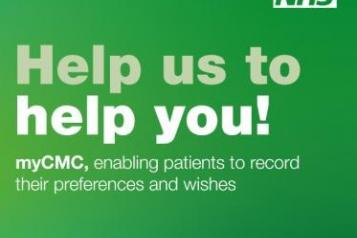 myCMC help us to help you