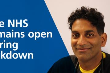 nhs remains open in lockdown