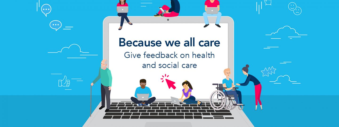 because we all care website banner