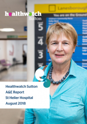 Front cover of a&e report