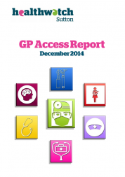 Front cover of GP access report
