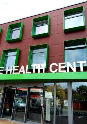 entrance to jubilee health centre