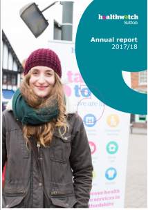 front cover of annual report 2017-18